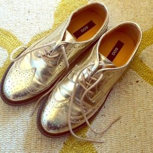 UO Christina Wingtip Oxfords